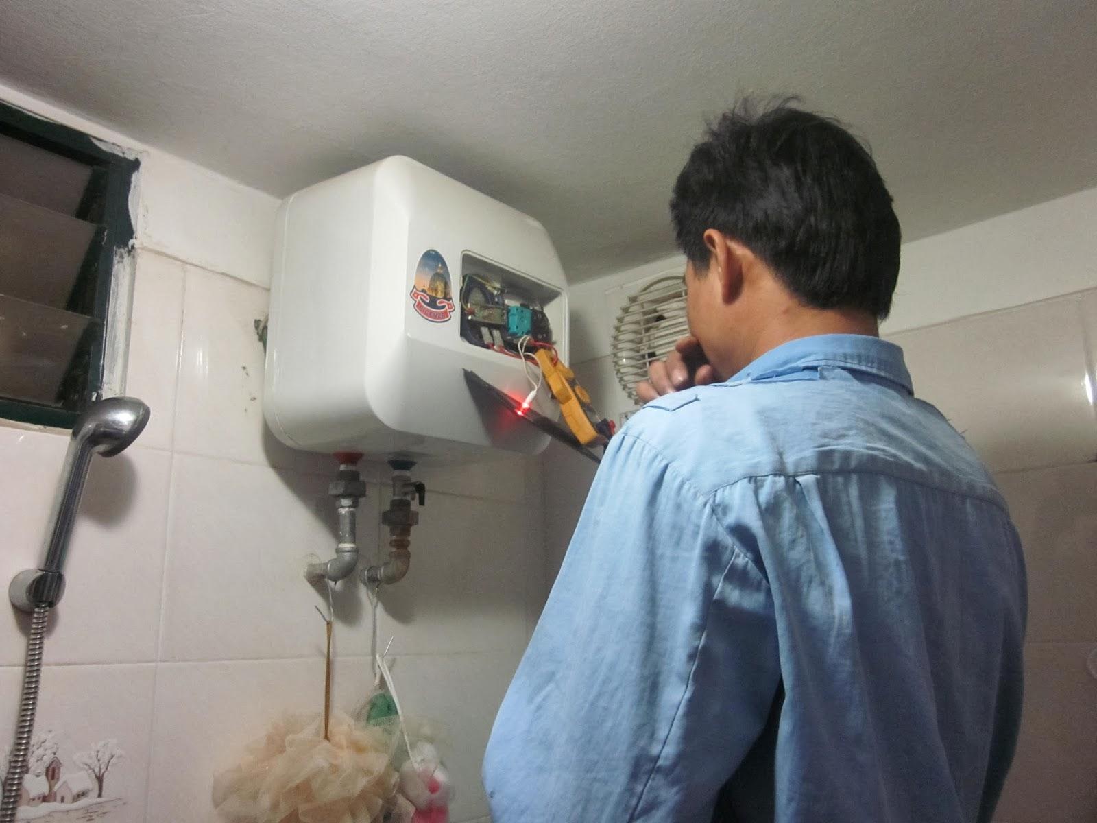 Sửa bình nóng lạnh tại quận Cầu Giấy